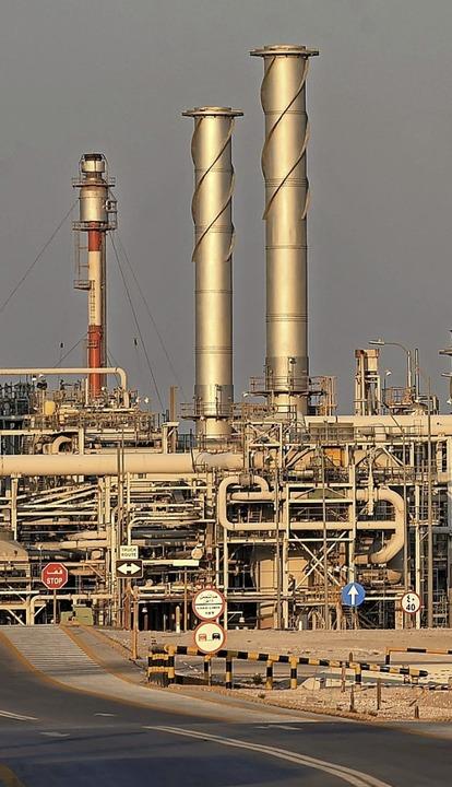 Aramcos Abgaiq-Ölverarbeitungsanlage.  | Foto: FAYEZ NURELDINE (AFP)