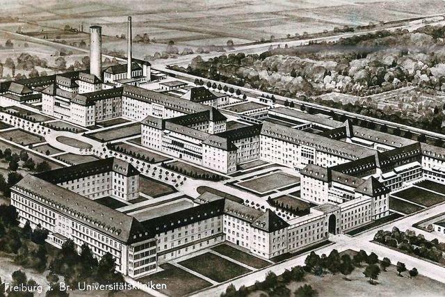 Der einst entwickelte Plan für das Freiburger Uniklinik-Areal wurde nie vollendet