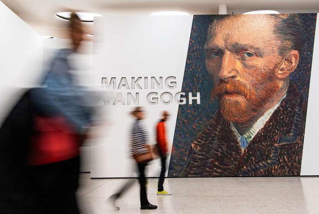 Wer war Vincent van Gogh?  | Foto: Boris Roessler (dpa)