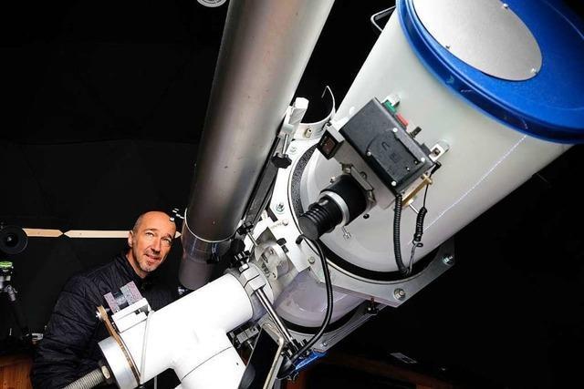 Sternstunden in Malsburg-Marzell – beim Blick ins Teleskop