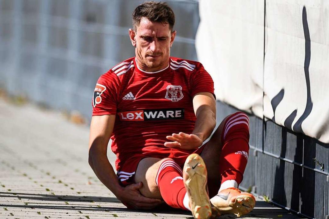Toptorjäger Marco Senftleber fehlt dem FFC verletzungsbedingt.  | Foto: Patrick Seeger