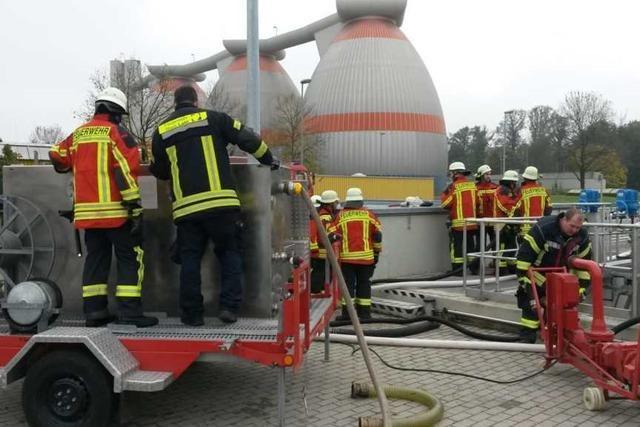 Altöl im Abwasser – Kläranlage verhindert Umweltkatastrophe