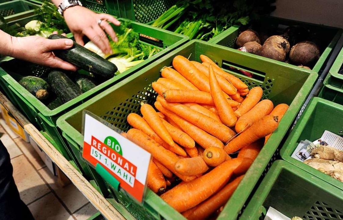 Was wir essen und woher dieses  kommt,...der) eine wichtige Rolle (Symbolbild).  | Foto: Uli Deck