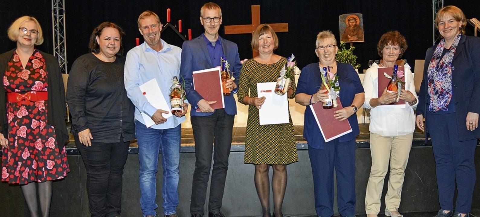 Im Rahmen einer Jubilarfeier wurden la...arbeiter des St. Josefshauses geehrt.   | Foto: Pressefoto St. Josefshaus