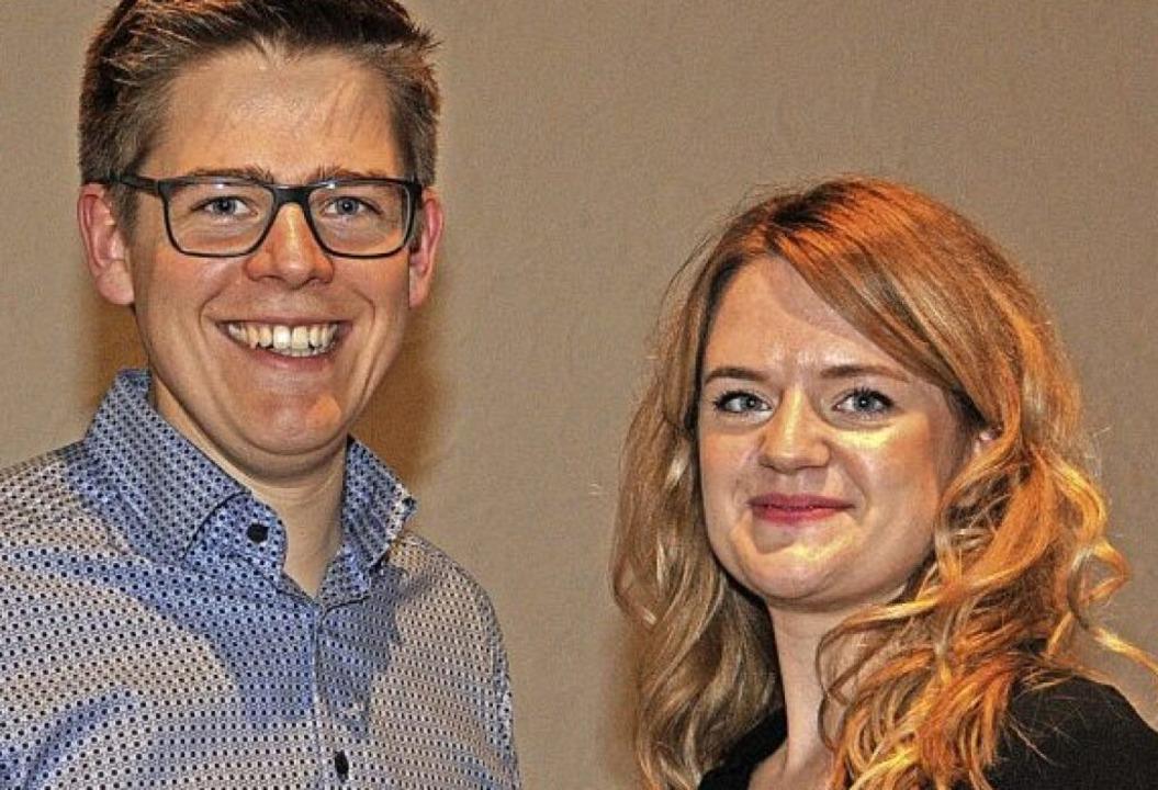 Kathrin Husser und Jonathan Grimm entwickeln neue Ideen.     Foto: Regine Ounas-Kräusel