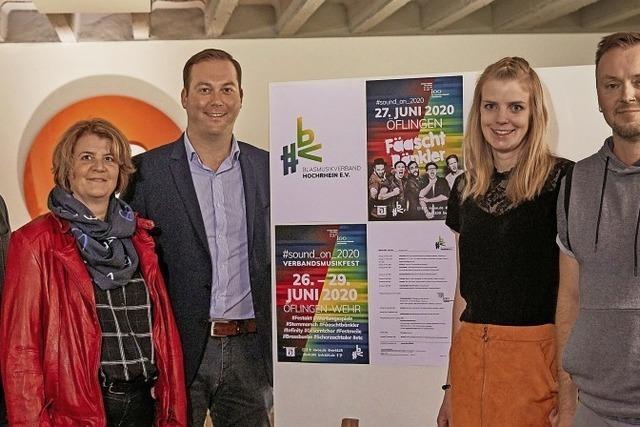 Blasmusikverband Hochrhein feiert 2020 großes Jubiläum in Wehr