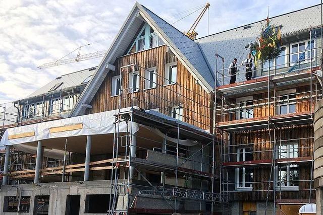 Der Umbau des Berghauses auf dem Schauinsland geht voran