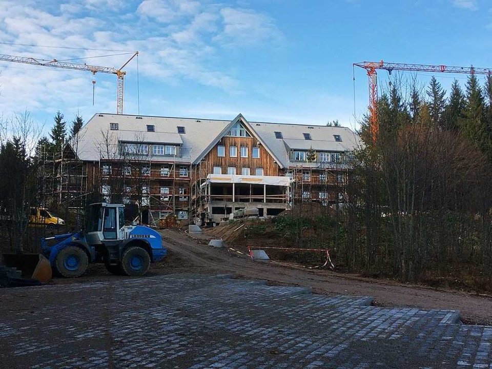 Im Umbau: Das Berghaus am Schauinsland.    Foto: Michael Dörfler