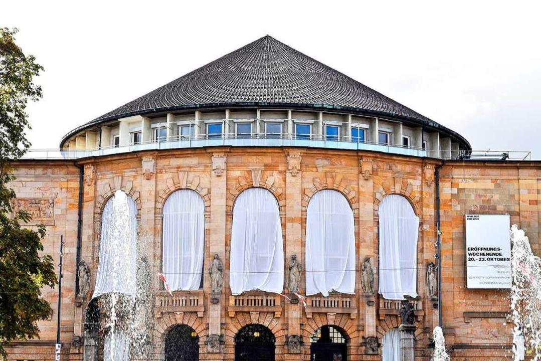 Kein Arbeitsplatz wie jeder andere: das Freiburger Theater   | Foto: Thomas Kunz