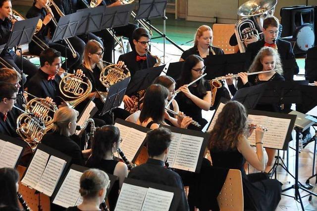 Blasmusikvereine sichern die Zukunft des Verbandsjugendorchesters