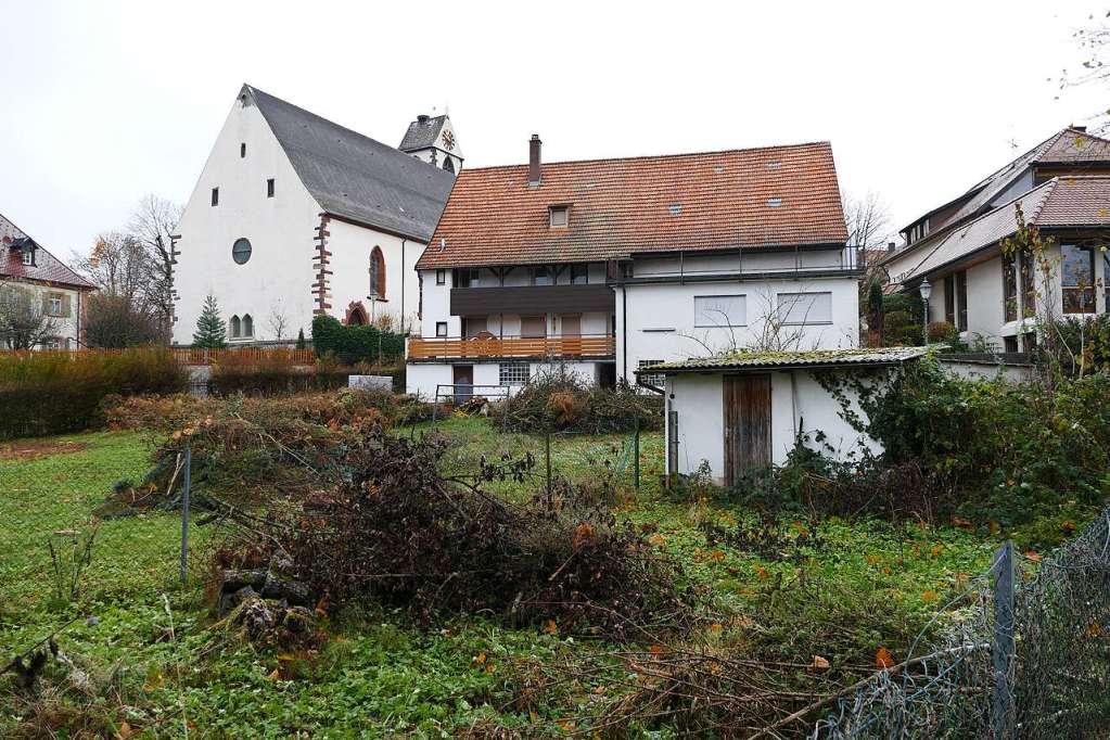 Auf dem Kirchzartener Kirchplatz können zwei Mehrfamilienhäuser gebaut werden - Kirchzarten - Badische Zeitung