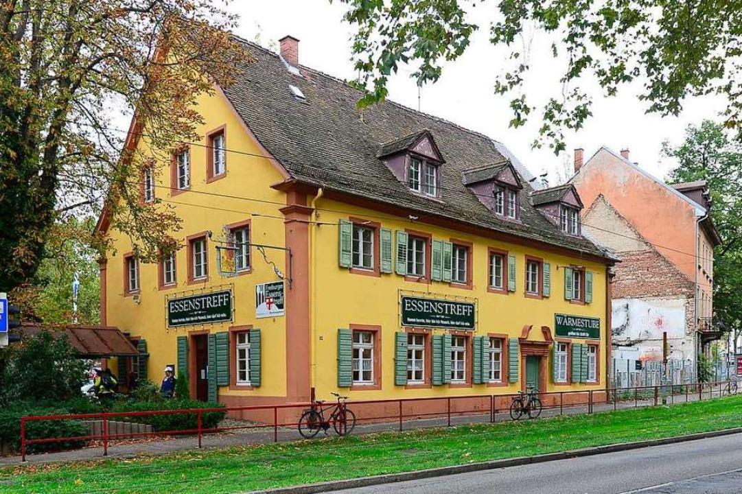 Das Dreikönigshaus beherbergt den Freiburger Essenstreff.  | Foto: Ingo Schneider