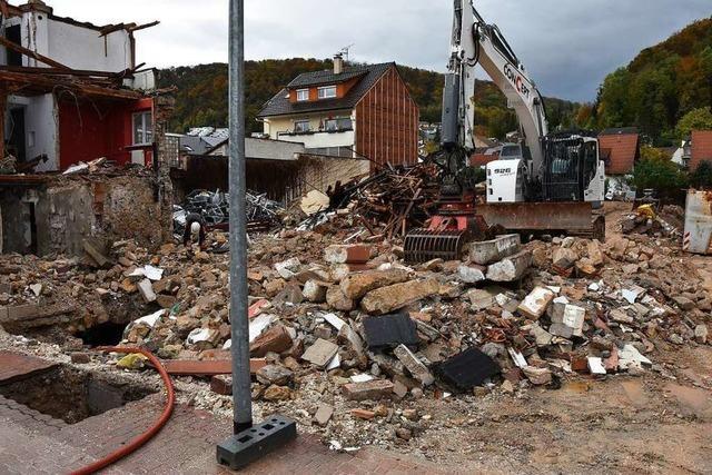 Das Gasthaus Löwen in Grenzach ist vollständig abgerissen