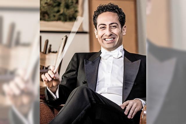 Dirigent Nabil Shehata und Pianist Frank Dupree