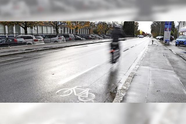 Anschluss an den Fahrrad-Highway