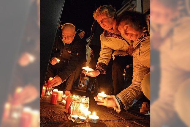 Mahnwache und Konzert erinnern an Pogromnacht