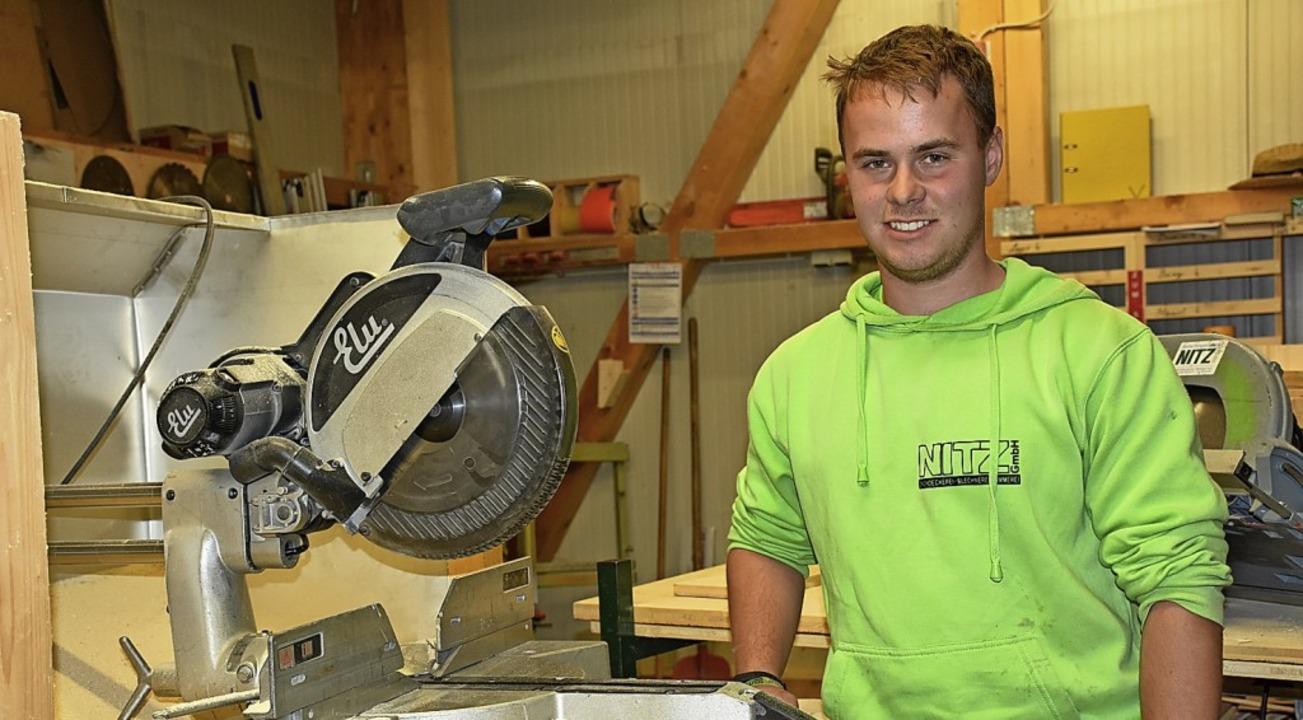 Wurde Kammersieger im Bereich Dachdeck...etrieb Nitz GmbH in Titisee-Neustadt.   | Foto: Thomas Biniossek