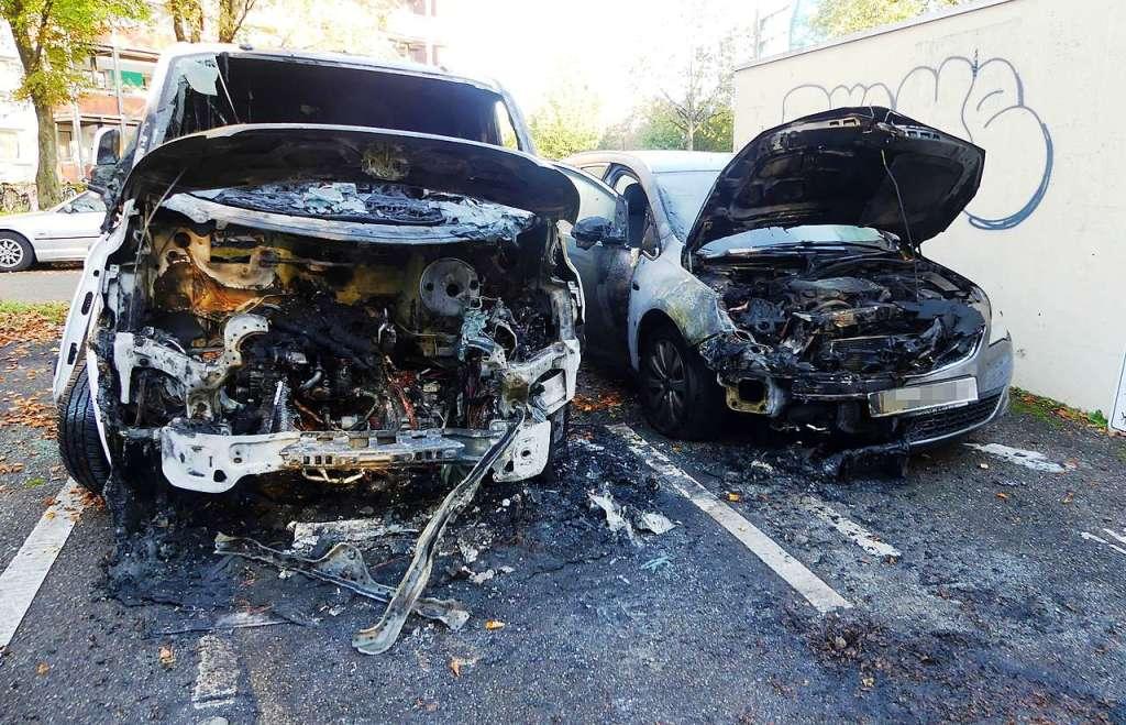Brandanschläge auf Autos von Immobilienfirmen in Freiburg ...