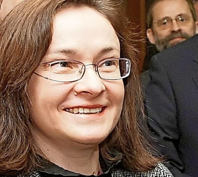 Elwira Nabiullina (2010)    Foto: Sergei Chirikov