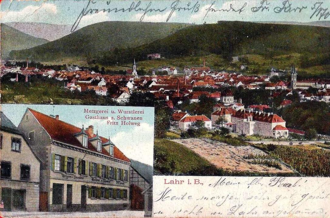 1909 war es noch eine Metzgerei und Wurstlerei.  | Foto: Manfred Eble