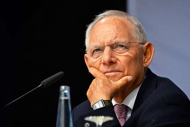 Wolfgang Schäuble: Gerade im Lokalen hält Journalismus die Demokratie im Alltag lebendig