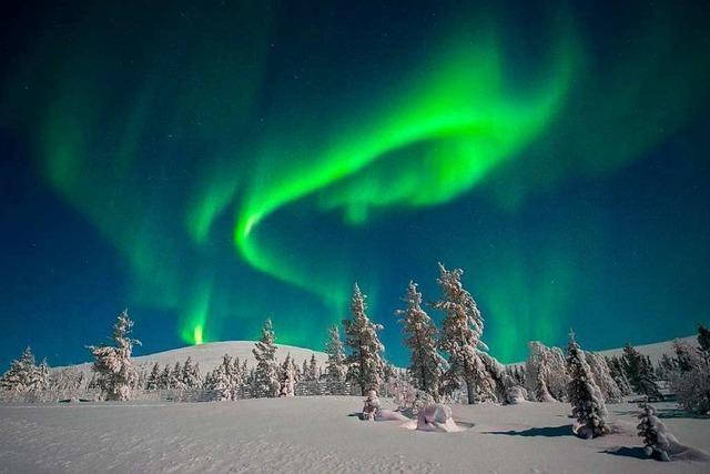 Das Ehepaar Taeschner aus Lörrach ist dem Zauber der Polarlichter erlegen