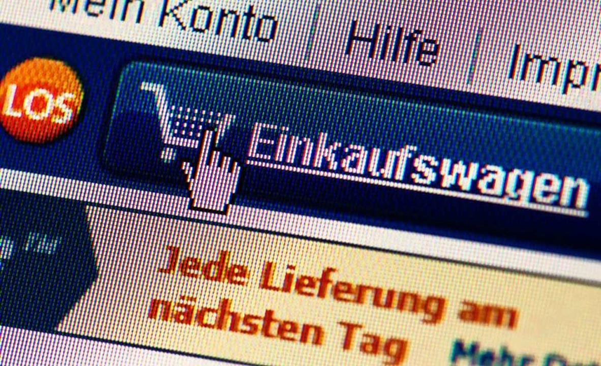 Zieht kaum Käufer an: der regionale Internet-Marktplatz     Foto: Arno Burgi (dpa)