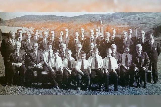 1901 hätte sich der Gesangverein Wies beinahe aufgelöst – jetzt wird er 140 Jahre alt