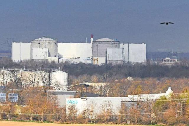 Reaktor 1 des Akw Fessenheim heruntergefahren