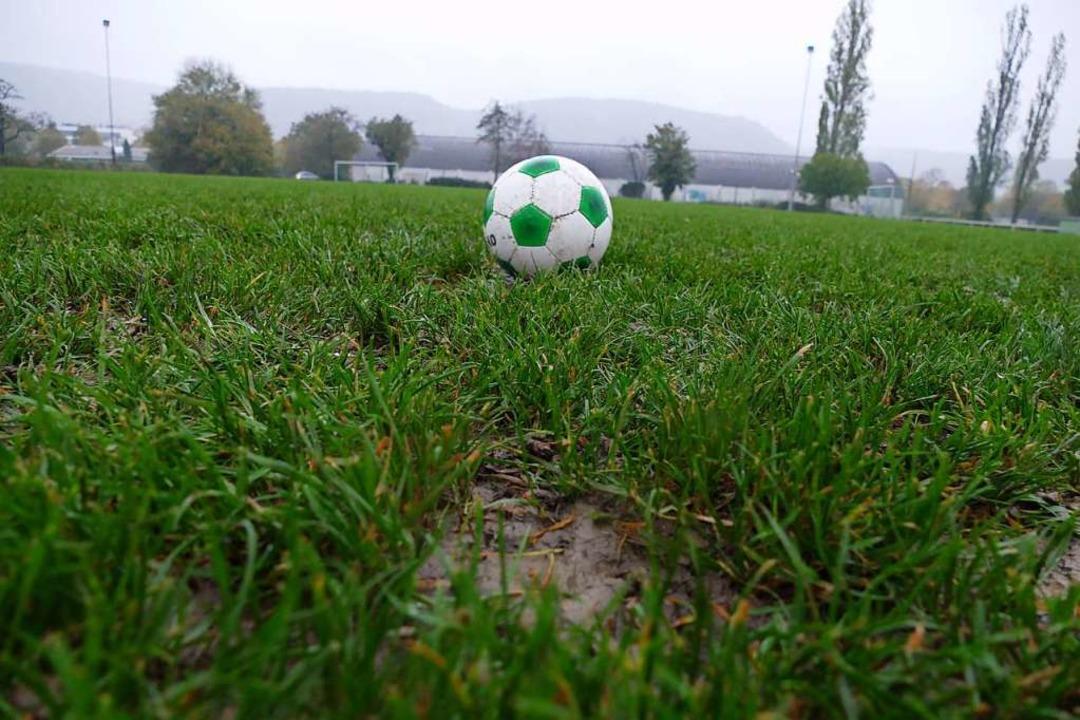 Die Sportanlage der SG Grenzach-Wyhlen ist dringend sanierungsbedürftig.  | Foto: Verena Pichler