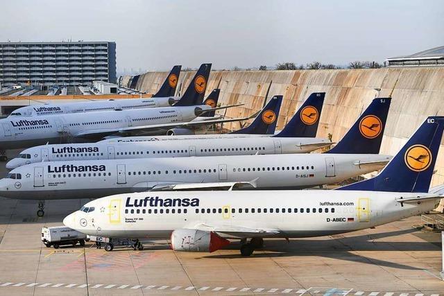 Lufthansa streicht 1300 Flüge wegen Flugbegleiter-Streiks