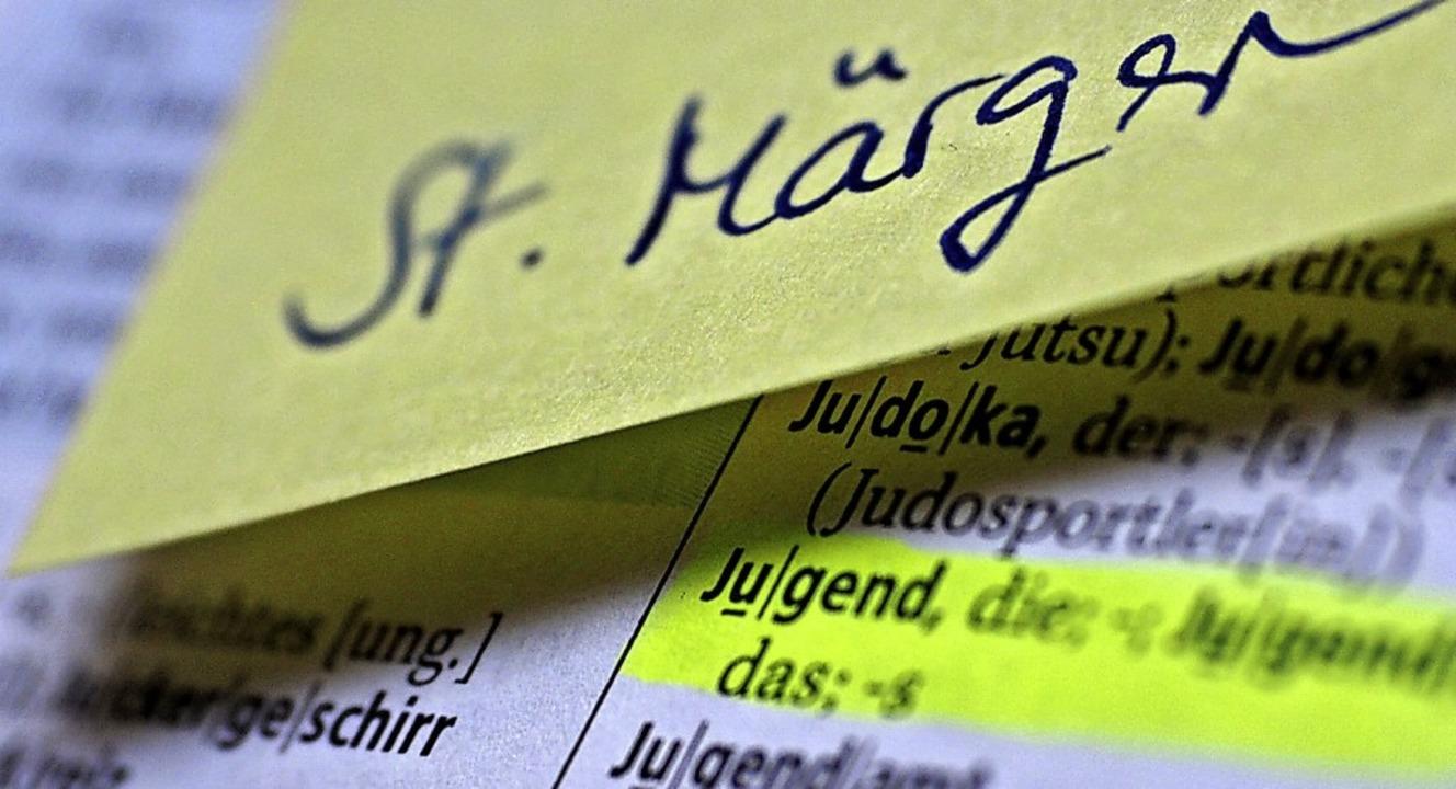 Das Thema Jugend spielt in St. Märgen eine wichtige Rolle.   | Foto: Susanne Gilg