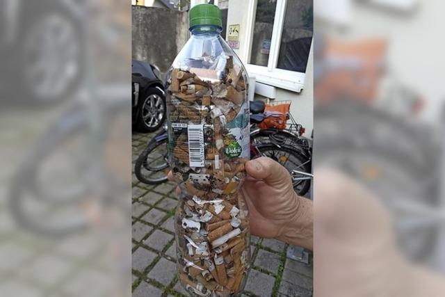 Müllsammelaktion mit erhoffter Signalwirkung