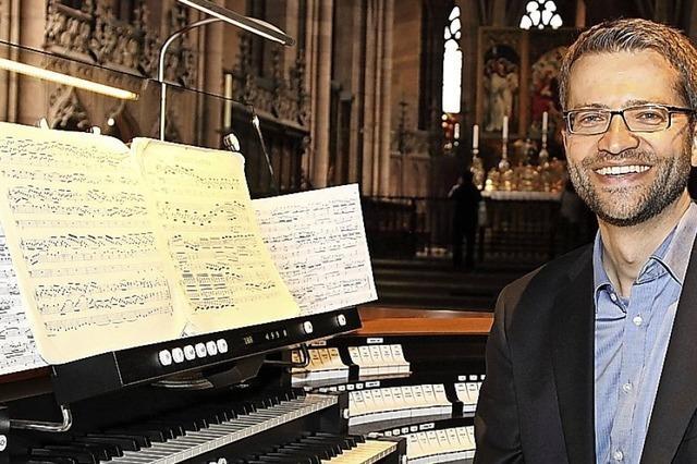 Die Orgelreihe ist
