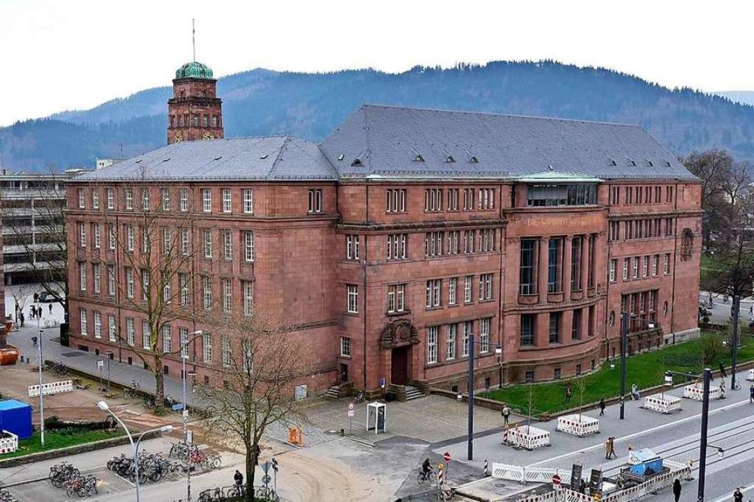 Die Veranstaltung fand im Kollegiengeb...I der Uni Freiburg statt (Archivbild).  | Foto: Thomas Kunz