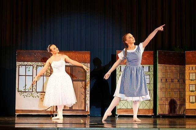 Der Zauberer von Oz ist als Ballet in Ebringen zu sehen