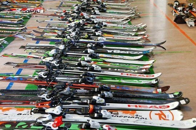 Skizunft Rheinfelden veranstaltet Ski- und Snowboardbasar in Warmbach