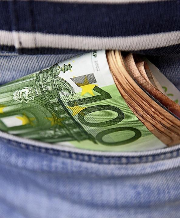Zu einer stabilen Währung gehört auch ein stabiles Finanzsystem.    Foto: Robert Michael (dpa)