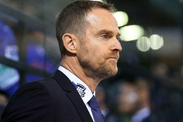 Schwenningens Manager Jürgen Rumrich hat genug