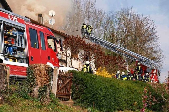Die Lörracher Feuerwehr wünscht sich eine zentrale Wache für die Ortsteile