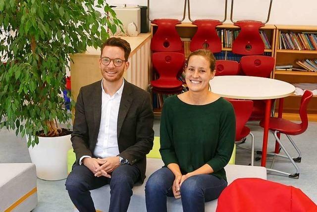 Ninon Rößler ist an der Lindenschule Ansprechpartnerin für alle