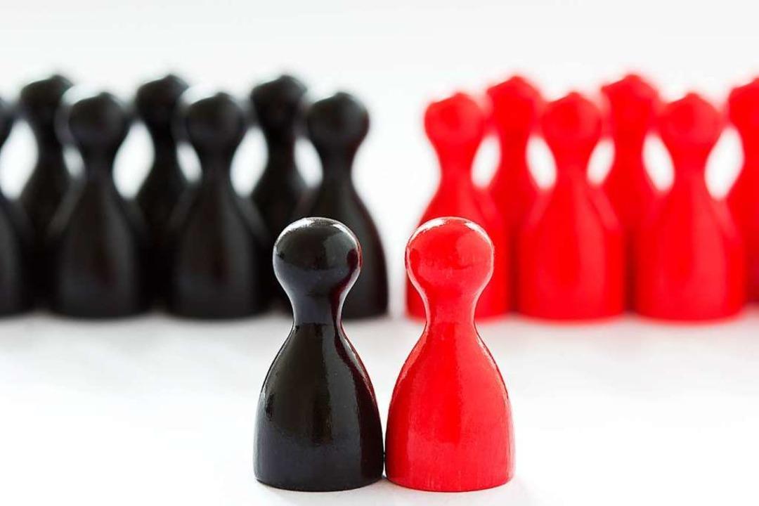 Schwarz und Rot: Die Farben in Berlin.  | Foto: Mellimage - stock.adobe.com