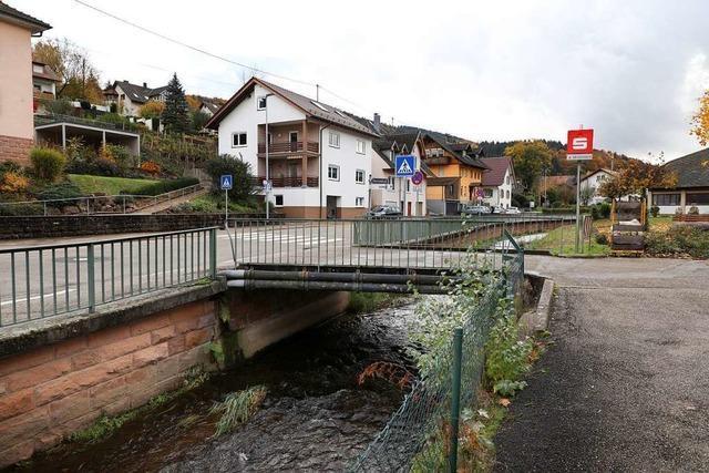 Die Prinschbachbrücke stand kurz vor der Sperrung