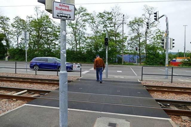 Tramübergang in Weil wird nach tödlichem Unfall besser gesichert