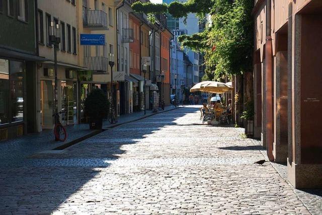 Ladendieb in der Freiburger Innenstadt festgenommen