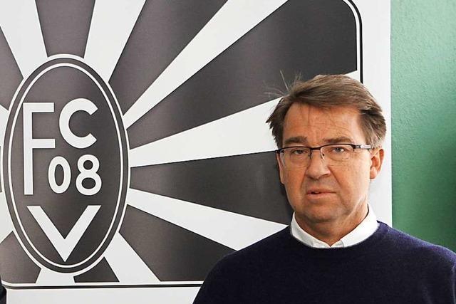 Präsident Leo Grimm hört beim Oberligisten FC 08 Villingen im November auf