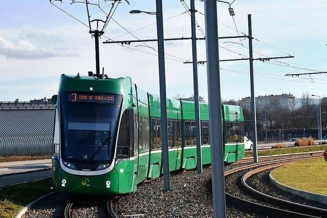 Verlängerung der Tramlinie 3 kostet 10 Millionen Franken weniger als geplant