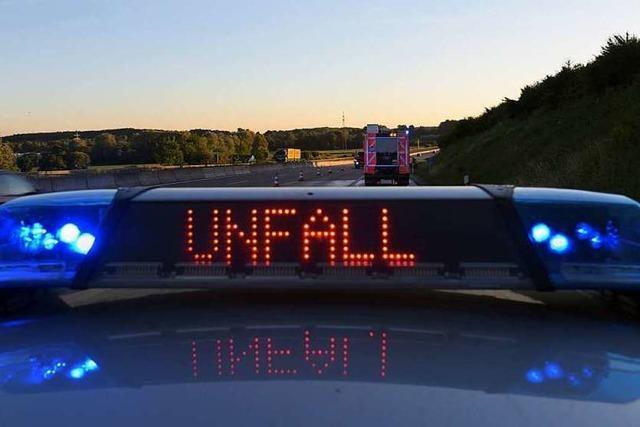 Junge Mutter stirbt auf der B 314 bei Eggingen