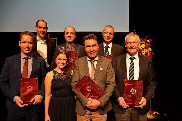 Sechs Ehrenpreise für Winzer vom Kaiserstuhl, Tuniberg und Breisgau