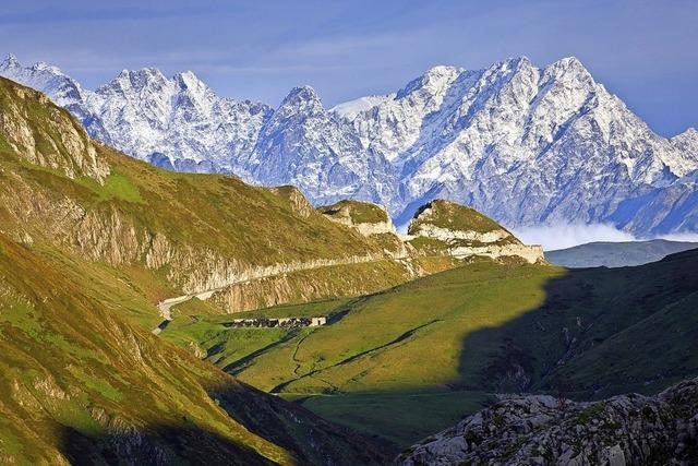 Zu Fuß durch die Alpen, Iris Kürschner und Dieter Haas in Müllheim
